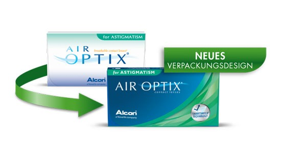 Air Optix for Astigmatism 3er - Neues Verpackungsdesign zoom-image