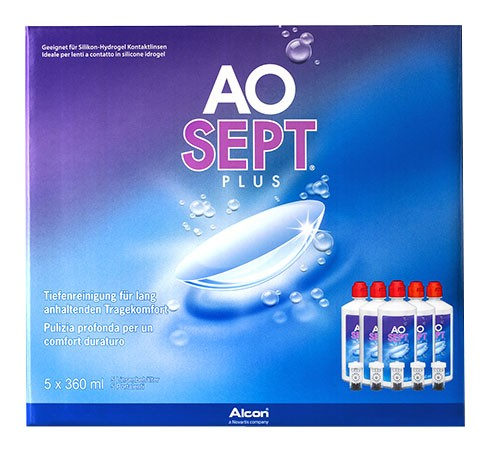 AOSEPT PLUS Sparpack 5x360ml zoom-image