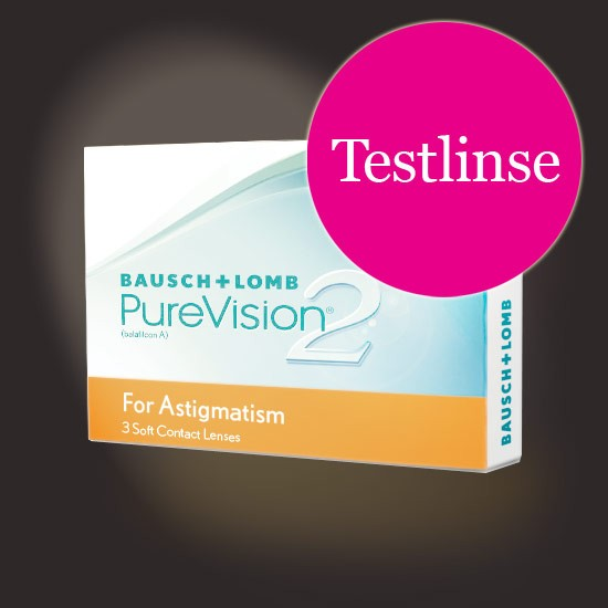 PureVision 2 HD for Astigmatism Testlinse zoom-image