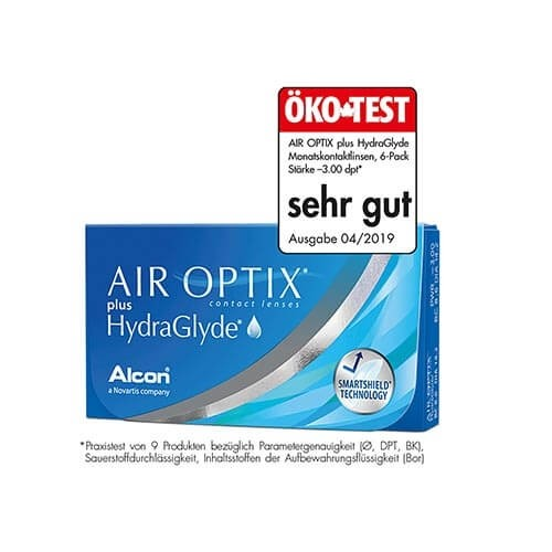 Air Optix plus HydraGlyde 3er