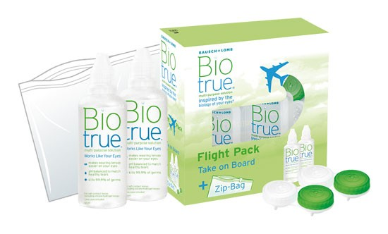 Biotrue All-in-one Lösung Flight Pack