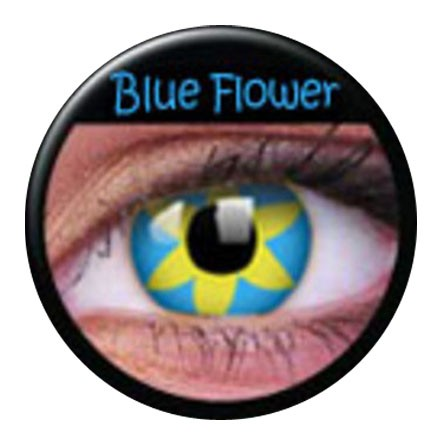 ColourVUE Funny Lens Blue Flower