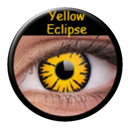 ColourVUE Funny Lens Yellow Eclipse