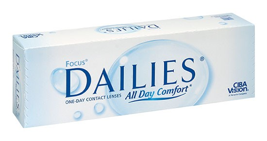 Focus Dailies All Day Comfort 30er