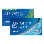 Air Optix plus HydraGlyde 3er + Air Optix for Astigmatism 3er