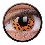 ColourVUE Funny Lens Yellow Leopard