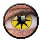 ColourVUE Funny Lens Yellow Star