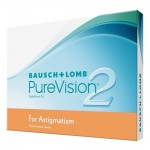PureVision 2 HD for Astigmatism Testlinse