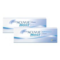 1 Day Acuvue Moist 30er + 1 Day Acuvue Moist for Astigmatism 30er